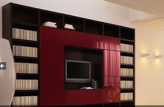 фото модульных систем в гостиную